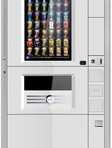 Торговый автомат для продажи штучной продукции Luce X Snack Touch TV с 32″ сенсорным экраном