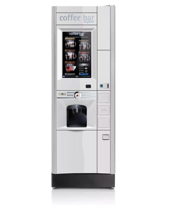Инновационный торговый кофейный автомат Luce X2 Touch TV с 22″ сенсорным экраном