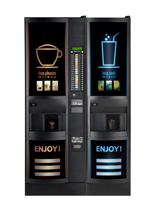 Торговый автомат для приготовления газированных, прохладительных напитков Luce cool