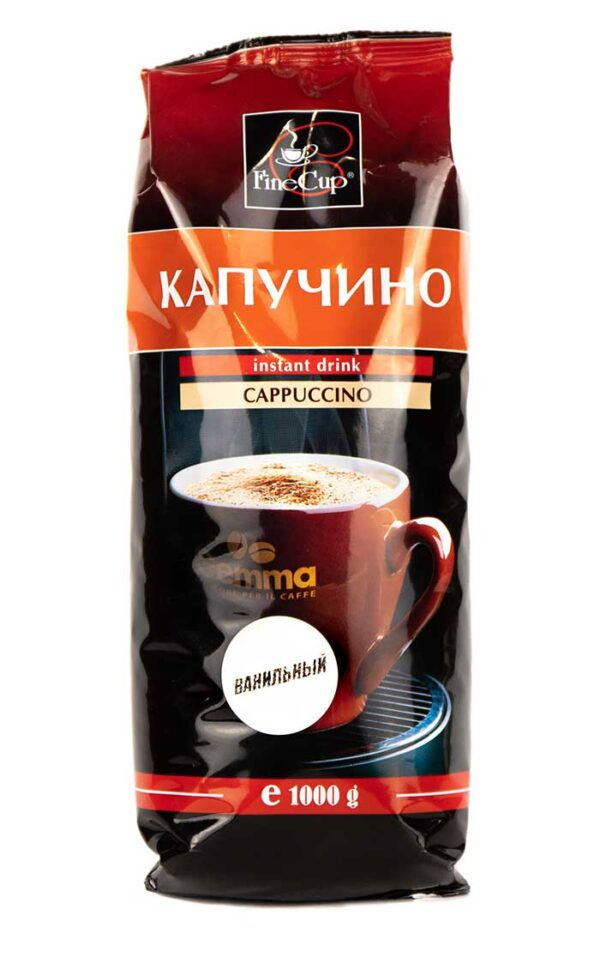 Напиток Cappuccino Vanilla 1000 гр. ТМ Fine Cup